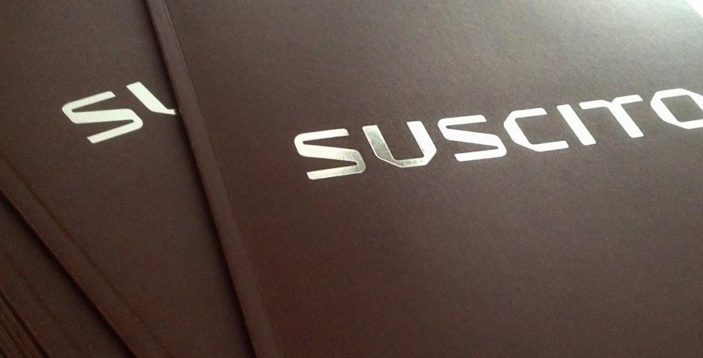 Omslag för Suscitos katalog 2015
