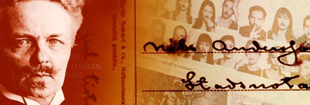 Strindberg 2012 webbplats